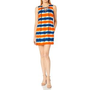 NWT Plenty by Tracy Reese Orange Blue Shif…